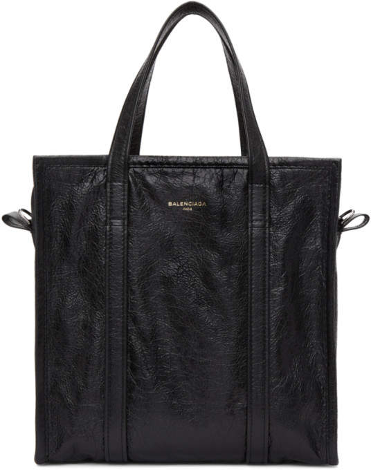 Balenciaga Black Small Bazar Shopper Tote