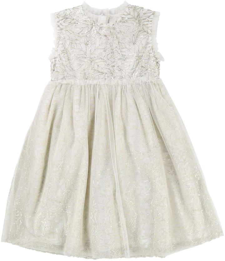 e8ba4e0c Kids Gold Tulle Dress - ShopStyle