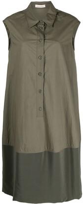 Gentry Portofino Sleeveless Panelled Shirt Dress