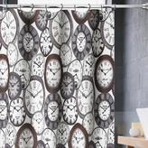 Valentina Time Piece Shower Curtain