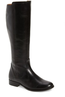 Frye Carly Leather Tall Boot - Wide Calf Available