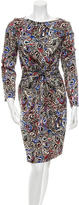 Balenciaga Silk Printed Dress
