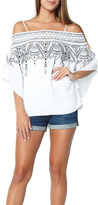 Parker Off Shoulder White Blouse