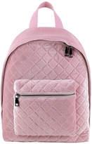 Asstd National Brand Velvet Quilted Backpack