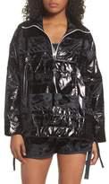 Nike Sportswear Metallic Half Zip Jacket