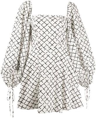 FEDERICA TOSI geometric print dress