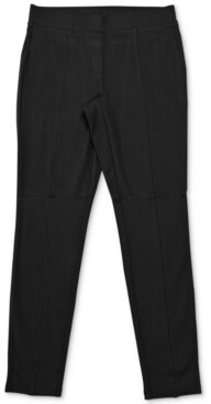 Style&Co. Style & Co Seam-Front Ponte-Knit Leggings, Created for Macy's