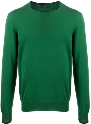Fay Contrast-Trim Sweater