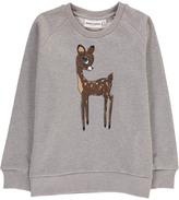 Mini Rodini Organic Cotton Fawn Sweatshirt