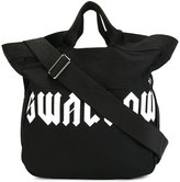 "McQ by Alexander McQueen Swallow"" tote bag with shoulder strap - women - Cotton - One Size"