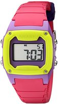 "Freestyle Unisex 101809 ""Shark Classic"" Pink/Purple/Yellow Digital Watch"