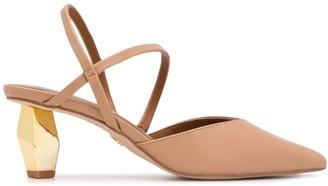 Kurt Geiger Ornamental Heel Sandals