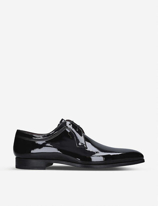 Magnanni Evening Derby patent leather shoes