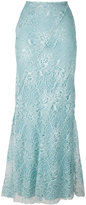 Alberta Ferretti embroidered skirt - women - Silk/Polyamide/Acetate/other fibers - 40