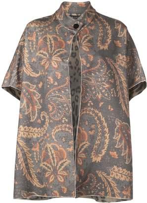 Etro paisley floral print cardigan