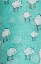 Printed Village The Black Sheep Scarf in Teal