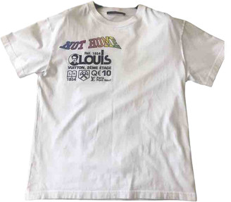 Louis Vuitton White Cotton T-shirts