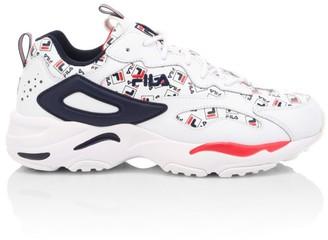 Fila Men's Ray Tracer Multilogo Sneakers