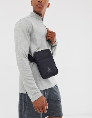 Reebok work out ready city bag in black