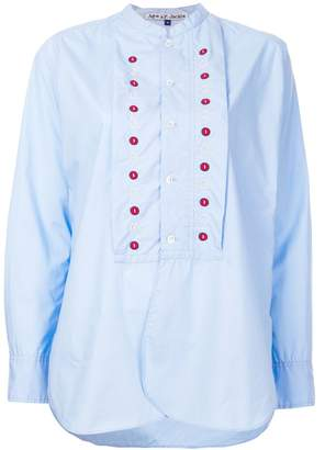 Jupe By Jackie Battle embroidered detail shirt