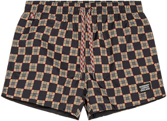 Burberry Greenford Swim Short in Beige | FWRD
