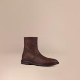 Burberry Deerskin Boots