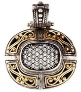 Konstantino Two-Tone Diamond Engraved Pendant
