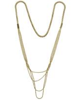 Multi Strand Snake Chain Necklace