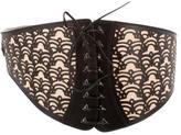 Alaia Laser Cut Waist Belt