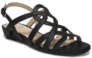 Naturalizer Raine Strappy Wedge Sandals Women's Shoes