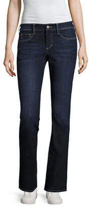 Arizona Juniors Womens Low Rise Regular Fit Stretch Bootcut Jean