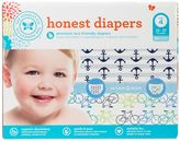 Bed Bath & Beyond Honest 60-Pack Size 4 Diapers in Anchors/Bicycles Patterns