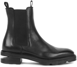 Alexander Wang Andy black leather Chelsea boots