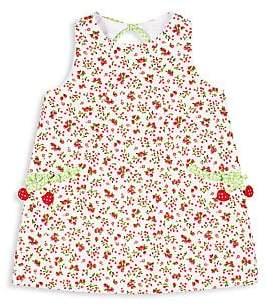 Florence Eiseman Little Girl's Cherry-Print Dress