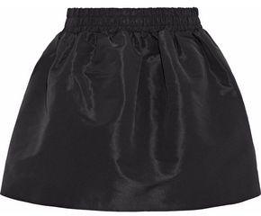 RED Valentino Flared Faille Mini Skirt