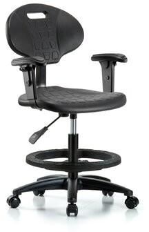 Thumbnail for your product : Blue Ridge Ergonomics Drafting Chair Casters/Glides: Casters