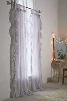 Urban Outfitters Ruffle Gauze Curtain