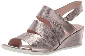 Ecco Women's Shape 35 Wedge Sandal Open Toe Heels6.5/7 UK/40 EU