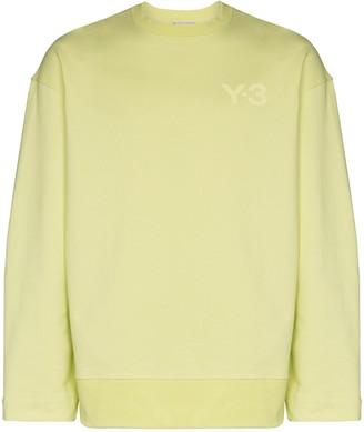 Y-3 Logo Detail Crew Sweatshirt