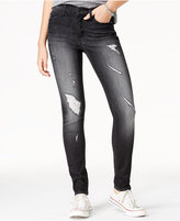 Flying Monkey Ripped Black Wash Skinny Jeans