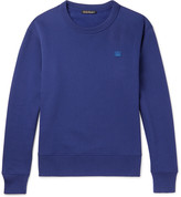 Acne Studios - Fairview Fleece-back Cotton-jersey Sweatshirt