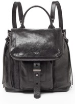 Botkier Warren Leather Backpack - Black