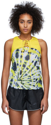 Nike Yellow Off-White Edition Cross Bib Tank Top
