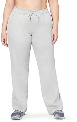 Core 10 Amazon Brand Women's Chill Out Fleece Wide Leg Pant (XS-XL Plus Size 1X-3X)