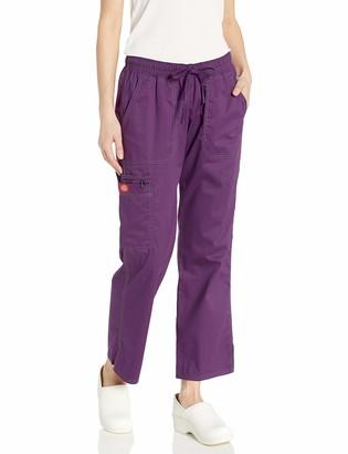 Dickies Women's Size Low Rise Straight Leg Drawstring Pant