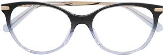 Love Moschino Gradient Cat-Eye Glasses
