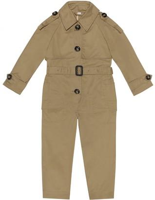 Burberry Cotton gabardine jumpsuit