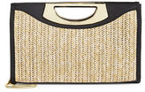 Calvin Klein Shosh Straw Clutch