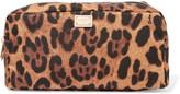 Dolce & Gabbana Leopard-print Shell Cosmetics Case