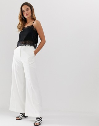 French Connection Aria tailored flare pants